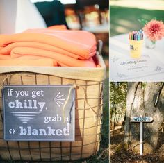 DIY rustic wedding details | Kim & Jess' locally sourced, personalized rustic chic barn wedding at Murray Hill in Leesburg, VA | Images: Jordan Baker Photography