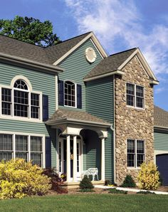 Found On Bing From Www Pinterest Com In 2020 Exterior Vinyl Siding Colors Green Siding Vinyl Siding Colors