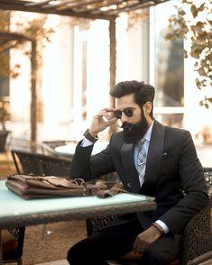16 Ideas For Wedding Hairstyles Men Grooms Guys Mens Hairstyles Fade, Hipster Hairstyles, Wedding Hairstyles, Long Beard Styles, Hair And Beard Styles, Hair Styles, Perfect Beard, Beard Love, Tapered Beard