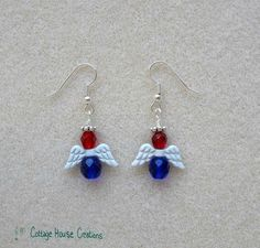 There's lots of occasions to wear these earrings: Patriot Day, Armed Forces Day, Memorial Day, Flag Day, 4th Of July, Constitution Day, Labor Day, Election Day, Veterans Day, Pearl Harbor Remembrance