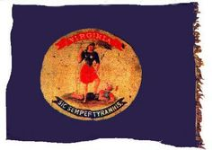 Flag of the Virginia Infantry. This battle flag was captured on March in the attack on Fort Stedman, Petersburg Virginia Civil War Flags, Civil War Art, Confederate States Of America, Confederate Flag, American Revolutionary War, American Civil War, American History, Tennessee Flag, Southern Heritage