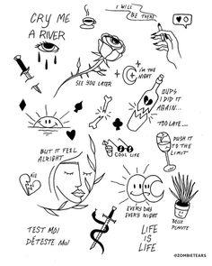 Cute Tiny Tattoos, Pretty Tattoos, Mini Tattoos, Tattoo Sketches, Tattoo Drawings, Henne Tattoo, Stick Tattoo, Sharpie Tattoos, Minimal Tattoo Design
