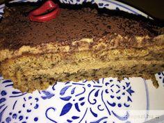 Diótorta liszt nélkül, fahéjas krémmel Tiramisu, Cake, Ethnic Recipes, Food, Kuchen, Essen, Meals, Tiramisu Cake, Torte