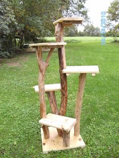 Outdoor cat trees #cattrees - Make your cat happy - Catsincare.com!
