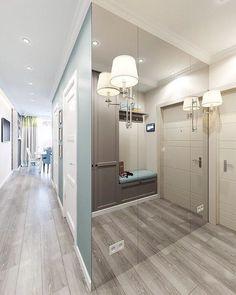 Lighting Design Hallway Foyers 47 Ideas For 2019 Flur Design, Hall Design, Hallway Designs, Closet Designs, Hallway Furniture, Entryway Decor, Foyer, Living Room Designs, Living Room Decor