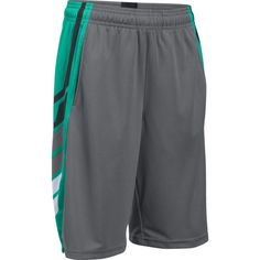 Under Armour Boys' Select Basketball Shorts, Size: XS, Green