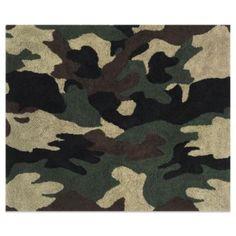Sweet Jojo Designs Camo Floor Rug in Green - BedBathandBeyond.com