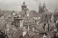 Prague 30s by Karel Plicka (1894 - 1987) - Czechoslovak photographer, film director, cinematographer, folklorist