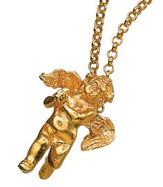"Pendant ""Putten Angel"" with necklace"