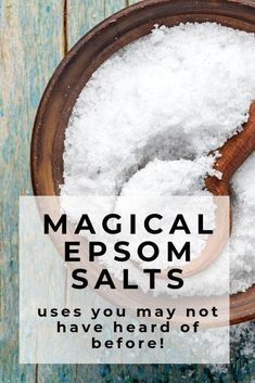 Tap here to find new uses for Epsom Salts you may not have heard before! Epsom Salts are not only for bath time but a great first aide kit item, sleep aide, body scrub and lots more! Best Natural Skin Care, Natural Health, Healthy Kids, How To Stay Healthy, Healthy Food, Healthy Recipes, Wellness Tips, Health And Wellness, Healthy Morning Routine