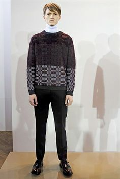 Pringle of Scotland Polo neck jumper LFW 14, london fashion week 2014, autumn winter 2014, LFW, fashion collection, fashion trends 2014, t s...