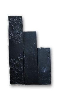 Palisaden SANOKU Basalt allseits eben gespalten & grob überspitzt