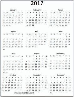 Free Printable  Calendar Coloring Page  Free Printables