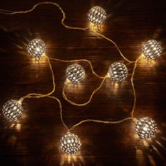 Classy yet festive lights to decorate for this holiday season - featured by Arhaus.