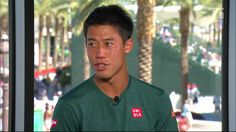 A good day at the office for Japan's Kei Nishikori in his victory over Dan Evans at the 2017 BNP Paribas Open. Watch his interview with Jon Wertheim below. #BNPPO17