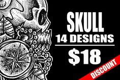 14 T-Shirt Design Skull Collection Only Also suitable for use: - Apparel - Poster - Canvas Print - Beach Towel - Phone Case - - Wall Tapestry - Flag - Pillow - Business Illustration, Pencil Illustration, Graphic Illustration, Illustrations, Business Brochure, Business Card Logo, Composition Design, Father Quotes, Black And White Design