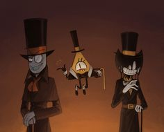 YESSS VILLAINOUS, GRAVITY FALLS, AND BENDY AND THE INK MACHINE. NICCCE