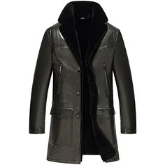 CWMALLS® Men's Black Shearling Lambskin Trench Coat Item No.: CW858101 Material: Imported natural lambskin leather shell with lamb fur shearling lining Size: (US SIZE) XS,S,M,L,XL,XXL,Customized Imported natural lambskin leather shell material is comfortable and breathable, sewing is ...  More details at https://jackets-lovers.bestselleroutlets.com/mens-jackets-coats/leather-faux-leather/product-review-for-cwmalls-men-shearling-lambskin-trench-coat-black-cw858101/