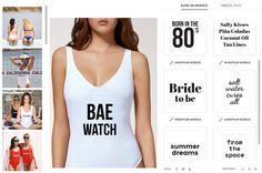 bañador blanco calzedonia para imprimir - Búsqueda de Google Coconut Oil Tanning, Tan Lines, Bride, Tank Tops, Women, Fashion, Google Search, White People, Wedding Bride