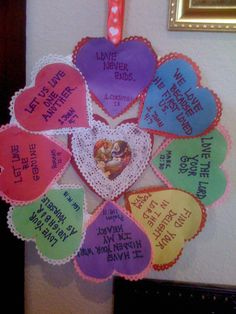 Religious Valentine Day Crafts for Kids Family At The Foot Of The Cross: St. Valentine Scripture Wreath 1200 x 1600 · 1008 kB · jpeg Valentine Day Craft for Kids Catholic Christian. Valentine Crafts For Kids, Valentines Day Activities, My Funny Valentine, Saint Valentine, Valentine Wreath, Valentine Verses, Valentine Bingo, Sunday School Projects, Sunday School Activities