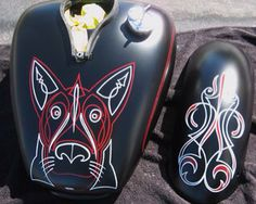 Dog design for pinstriping