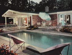 The SCHOLZ House of the Year, as seen in House & Home, January 1958 issue. Repinned by Secret Design Studio, Melbourne. www.secretdesignstudio.com