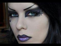 Halloween makeup/ I think I choose this