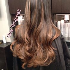 Ombre Hair - Natural Balayage Ombre
