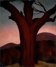 Autumn Trees - Chestnut Tree - Georgia O'Keeffe