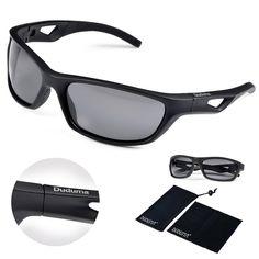 59aa75d65810a Amazon.com  Duduma Polarized Sport Mens Sunglasses for Baseball Fishing  Golf Running Cycling with