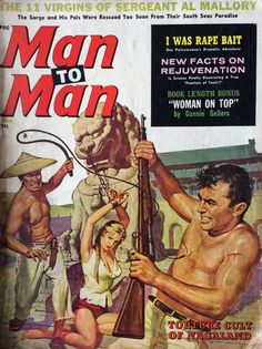 1960s Sexploitation Pulp Mens Magazine MAN TO MAN Glamour Pin Up in Books, Comics & Magazines, Magazines, Men's | eBay!