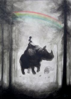 Europe, Unicorns and Rainbow.