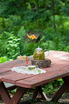 Linden Tea for a Summer Afternoon