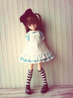 Twitter / A_line_doll: ruruko×アリス服。ドリドリvol.30掲載のでこニキサ ...