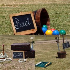 Fun and games during wedding pre dinner drinks. Games available for hire from Remember When Vintage Prop Hire.