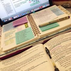 Booklr/Studyblr - word-limits: 2 am study sessions that become 1 am study sessions >>>> La meilleure image selon vos e - School Organization Notes, Study Organization, University Organization, College Notes, School Notes, School Study Tips, Study College, Pretty Notes, Study Hard