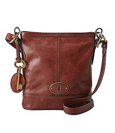 I Love Fossil Purses This Is My New Favorite Purse Mine Camel Brown