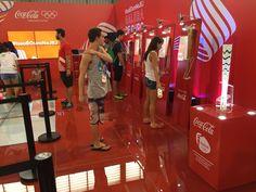 Estande Coca Cola nos Jogos escolares de 2015 em Londrina  Locação de equipamento de TI.