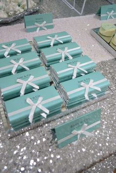 TIFFANY & CO Baby Shower Party Ideas | Photo 2 of 11 | Catch My Party