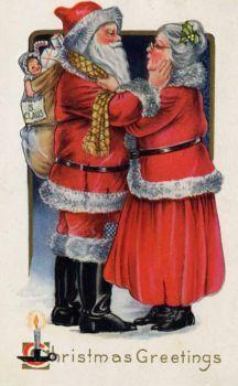 1919 US Christmas Postcard (54 pieces)