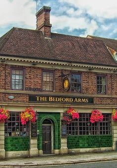 The Bedford Arms - Bedford, Bedfordshire, England.  Where my grandparents are…