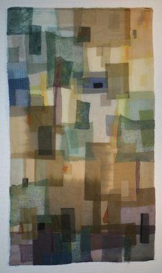 Rosemary Claus-Gray, Facade XXVI, 38 x 66, Poplar Bluff, Missouri, USA   Weekly Artist Fibre Interviews   World of Threads Festival