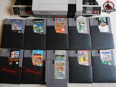 Consoles et jeux Nintendo : Super Mario Bros NES, Donkey Kong Classics, Double Dragon II, Metal Gear, DragonBall, Bionic Commando