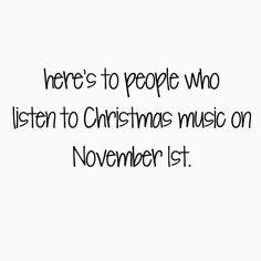 Christmas music <3