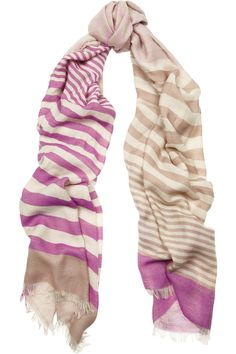 Scarf / MULBERRY #scarf