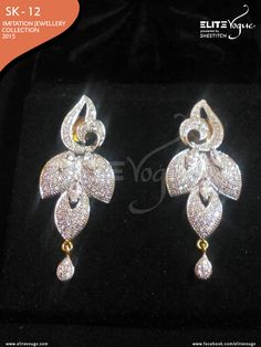 Elite Imitation #Earring Collection  Price: PKR: 1200 / USD: $12 ☛ {+92-322-3504542} #Jewellerys #Handmadejewelry