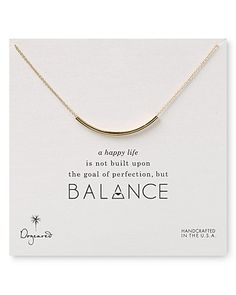 Dogeared Balance Necklace, 18"