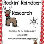 Non-fiction text is such a big focus in the new Common Core!  This unit is to help students use informational text to research reindeer as a nonfi...
