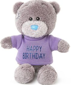 Happy Birthday Teddy Bear with T-Shirt - Me to You