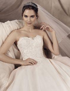 yorman, wedding dress princess style